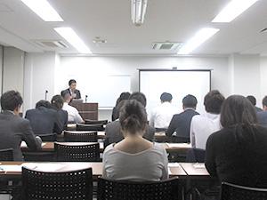 人材エージェントキャリアアップ講座でのセミナーの様子